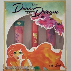 DISNEY The Little Mermaid Ariel Lip Gloss Set NEW